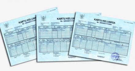 Persyaratan Pengajuan Kartu Keluarga  (KK)