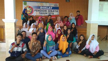 Diklat Pendidik Sebaya di Desa Besuki