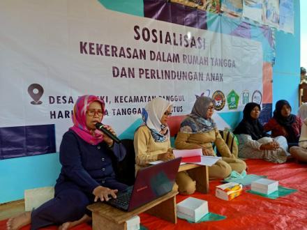 Sosialisasi  Kekerasan dalam Rumah Tangga dan Perlindungan Anak