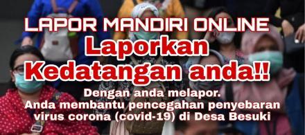LAPOR MANDIRI ONLINE